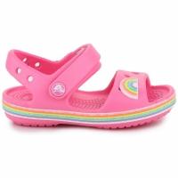 Sandale Sandale Crocs For Crocband roz Imagination PS 206145 669 pentru Copii