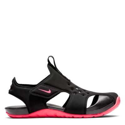 Sandale Sandale cu arici Nike Sunray Protect 2 pentru fete negru roz