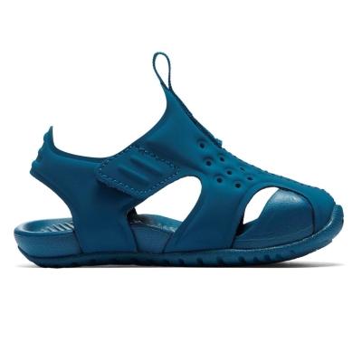 Sandale albastre cu arici Nike Sunray Protect baietei