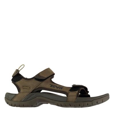 Sandale Teva Landgon din piele pentru Barbati maro