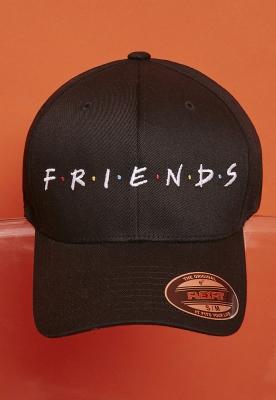 Sapca Flexfit Friends Logo negru Merchcode