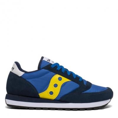 Adidasi sport Saucony Originals Jazz Original albastru galben