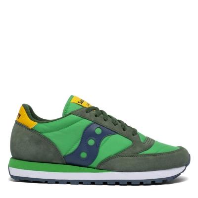 Adidasi sport Saucony Originals Jazz Original verde galben