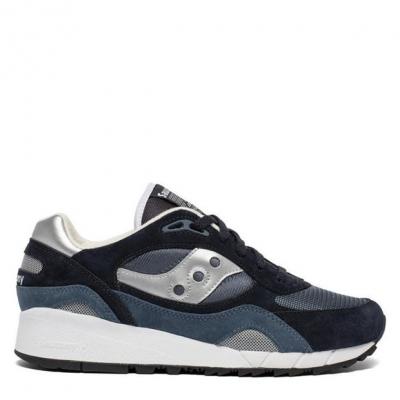 Adidasi sport Saucony Originals Shadow 6000 bleumarin argintiu
