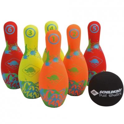 Set Schildkrot Skittle 970227 bowling neopren copii
