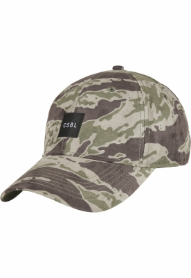 Sepci CSBL Section Curved tiger-camuflaj Cayler and Sons negru alb
