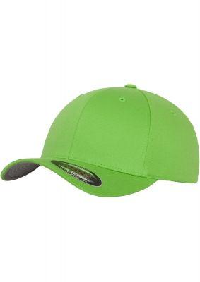 Sepci originale Flexfit Wooly Combed verde lime