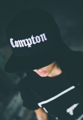 Sepci rap Compton negru Mister Tee