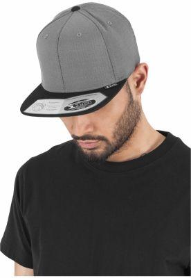 Sepci rap Heringbone 110 Snapback gri-negru Flexfit