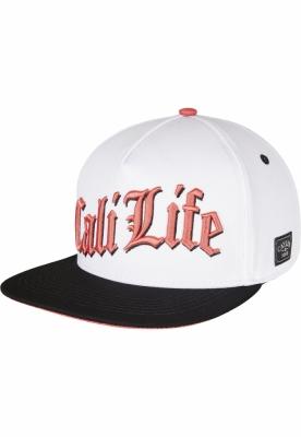 Sepci rap snapback CALI LIFE alb-mc Cayler and Sons