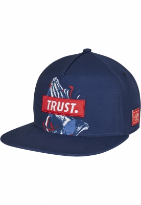 Sepci rap Snapback C&S WL Retro Trust bleumarin-mc Cayler and Sons