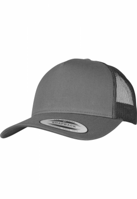 Sepci Sepci Retro Trucker 5-Panel gri carbune Flexfit