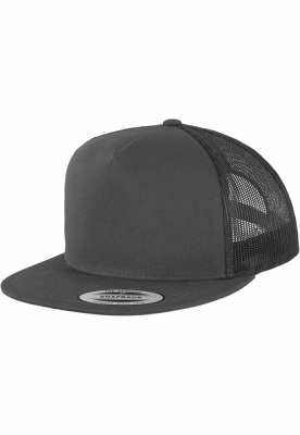 Sepci Trucker gri carbune Flexfit