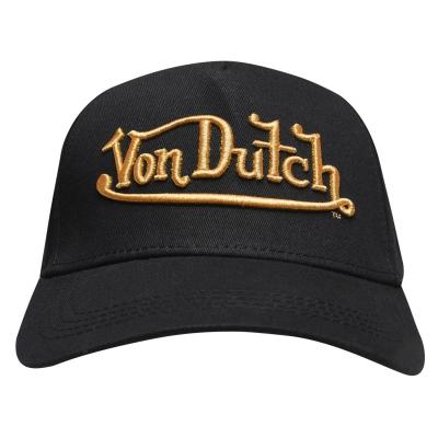 Sepci Von Dutch Logo negru auriu