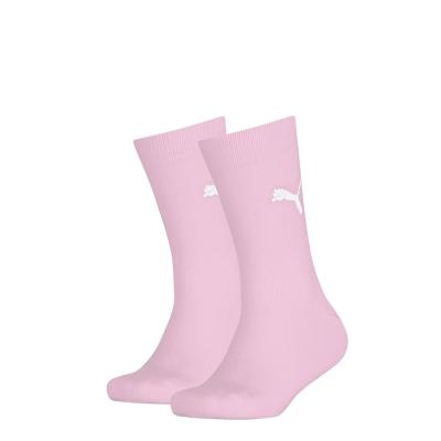 Set 2 perechi Sosete Puma Eas Rd pentru copii roz albastru
