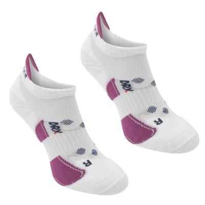 Set 2 Sosete Karrimor alergare pentru Femei alb roz inchis