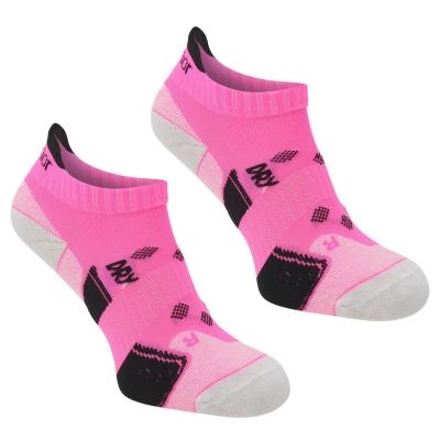 Set 2 Sosete Karrimor alergare pentru Femei bright roz