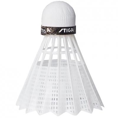 Set 3 Darts Badminton Stiga nailon alb