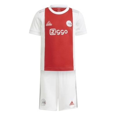 Set adidas Ajax Acasa 2021 2022 alb rosu