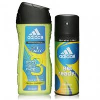 Set adidas Get Ready Duo Wash