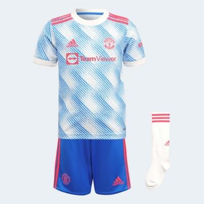 Set adidas Manchester United Away 2021 2022 alb