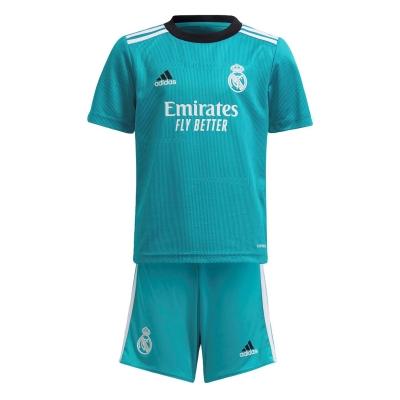 Set adidas Real Madrid Third 2021 2022 albastru