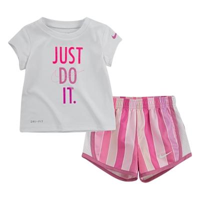 Set bebelusi Nike Short & Top Fete magic roz