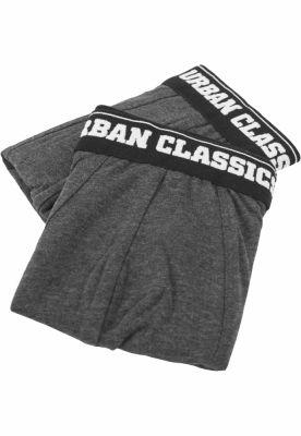 Set doua perechi boxeri barbati gri carbune-gri carbune Urban Classics
