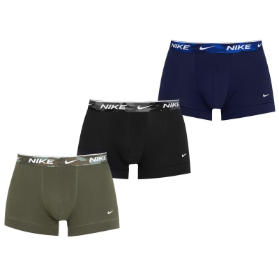 Set de 3 Boxeri Nike pentru Barbati camuflaj u18