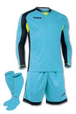 Set echipament portar Joma turcoaz-negru cu maneca lunga