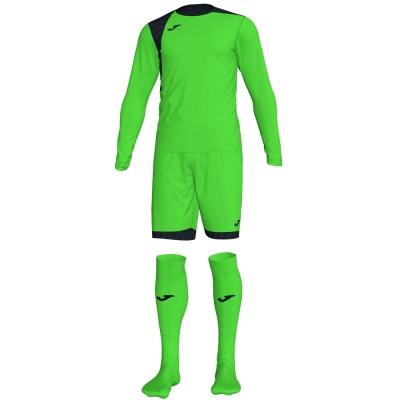 Set echipament portar Joma Zamora Iv Fluor verde cu maneca lunga fosforescent