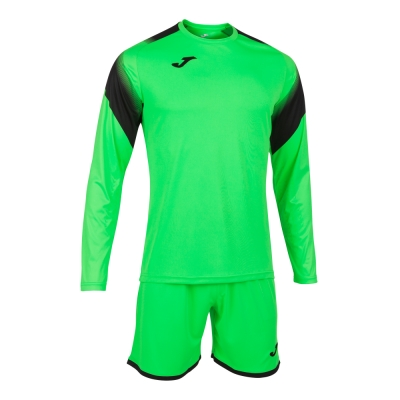 Set echipament portar Joma Zamora V Fluor verde cu maneca lunga fosforescent