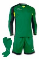 Set echipament portar Joma Zamora verde-negru cu maneca lunga