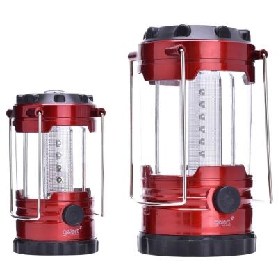 Set Gelert 12 LED + 18 LED Family Lantern negru rosu
