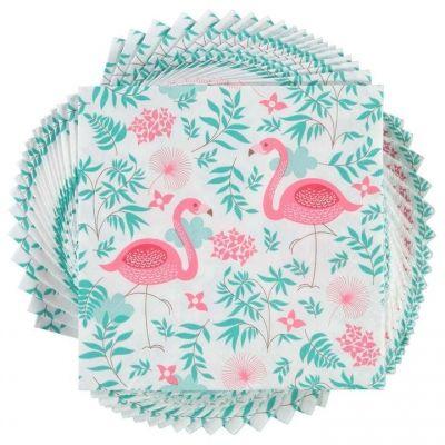 Set Servetele Heatons roz Flamingo of 20