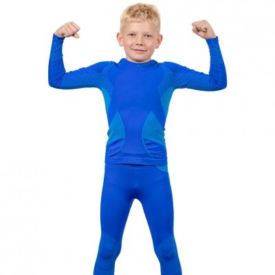Set Lenjerie Thermoactive For Alpinus Active albastru GT43199 pentru Copii