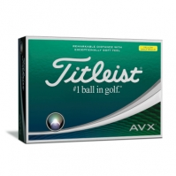 Set mingi golf Titleist AVX 12 galben