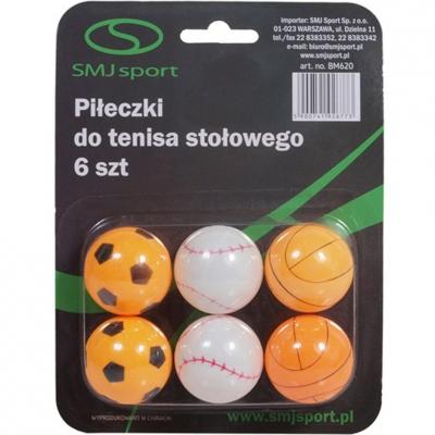 Set Mingi ping pong Smj 6 Colorful BM620