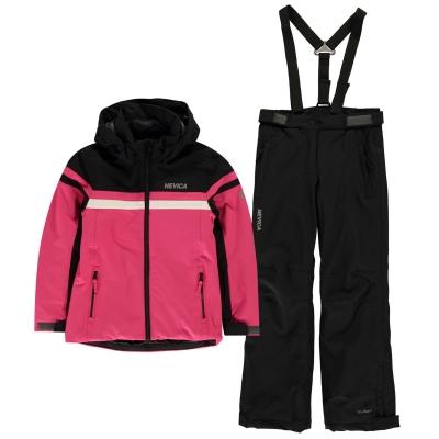 Set Nevica Nancy Skiing Suit roz negru