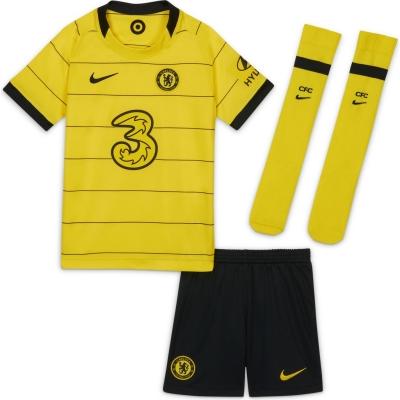 Set Nike Chelsea Away 2021 2022 galben