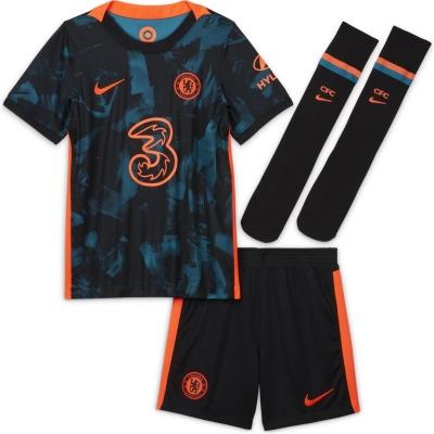 Set Nike Chelsea Third 2021 2022 albastru rosu