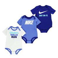 Set Nike CWR Bodysuit Set of 3 pentru Bebelusi