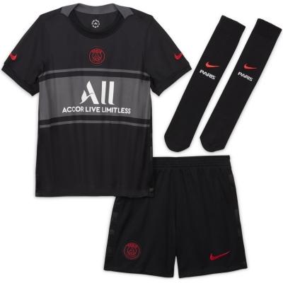 Set Nike Paris Saint Germain Third 2021 2022 negru