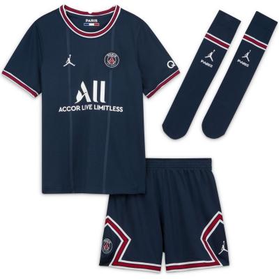 Set Nike Paris Saint Germain x Jordan 2021 2022 bleumarin