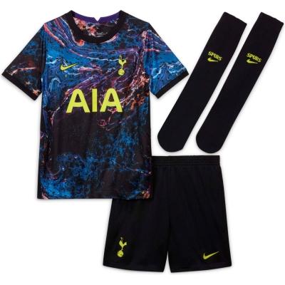 Set Nike Tottenham Hotspur Away 2021 2022 negru verde