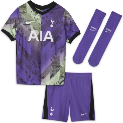 Set Nike Tottenham Hotspur Third 2021 2022 mov negru