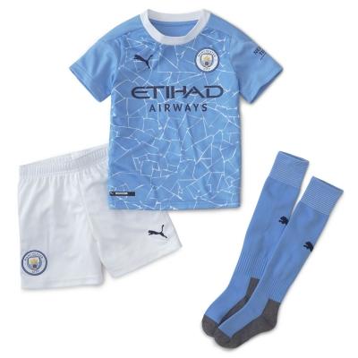 Set Puma Manchester City Acasa 2020 2021 albastru