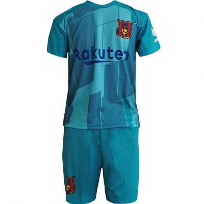 Set Sport Replica Messi Barcelona 201920 verde copii