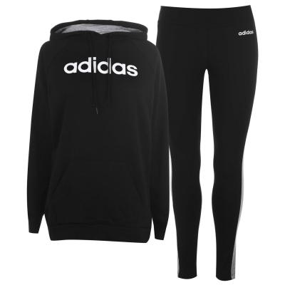 Set Treninguri adidas pentru Femei negru gri