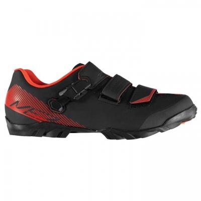 Pantofi ciclism Shimano ME3 MTB pentru Barbati negru rosu